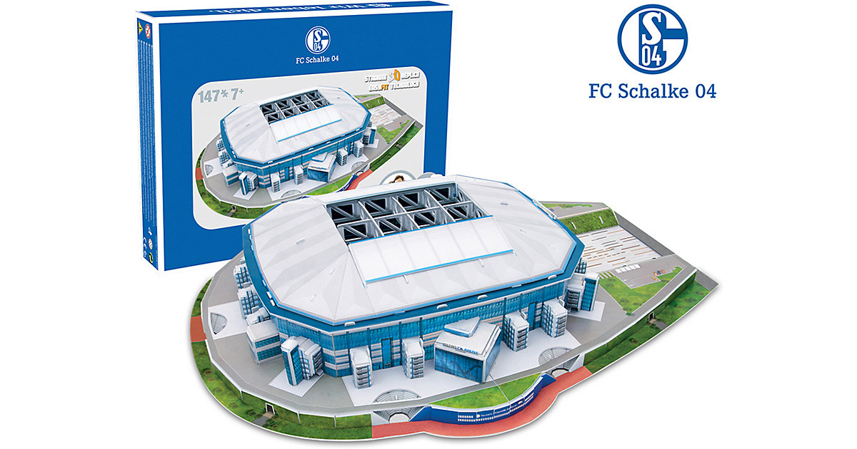 3D Stadion-Puzzle Veltins Arena Schalke