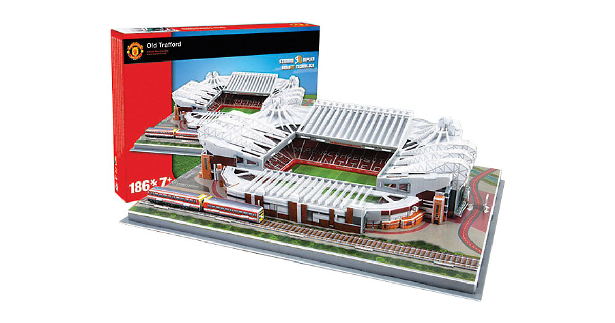 3D Stadion-Puzzle Old Trafford Manchester