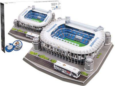 3D Stadion-Puzzle Santiago Bernabeu Madrid