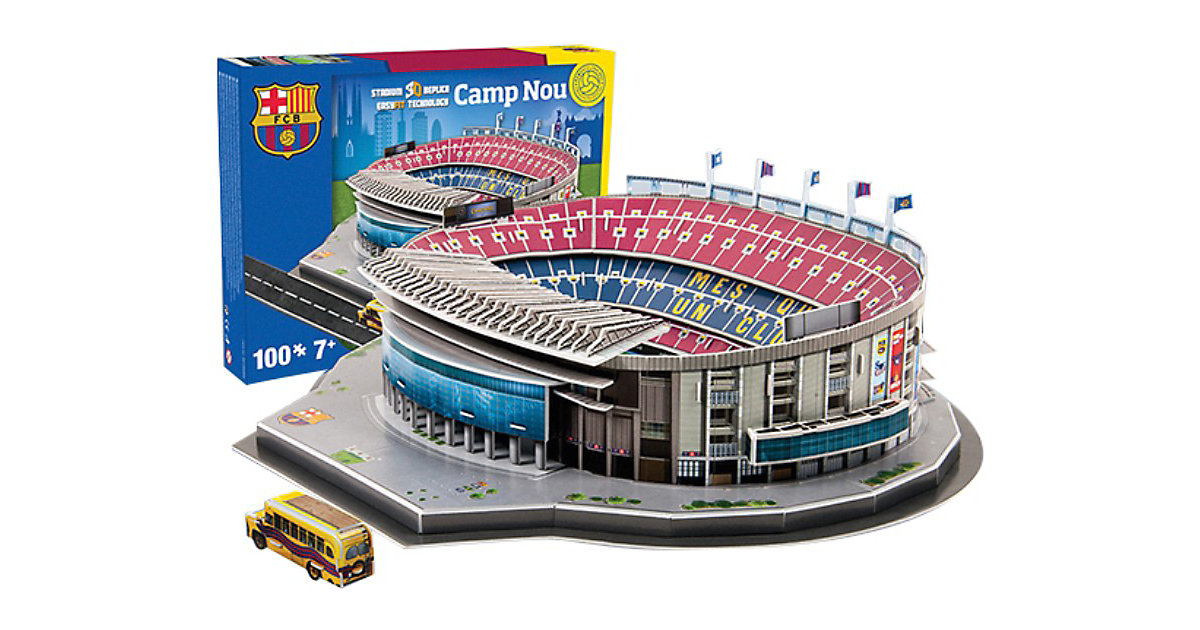 3D Stadion-Puzzle Nou Camp Barcelona