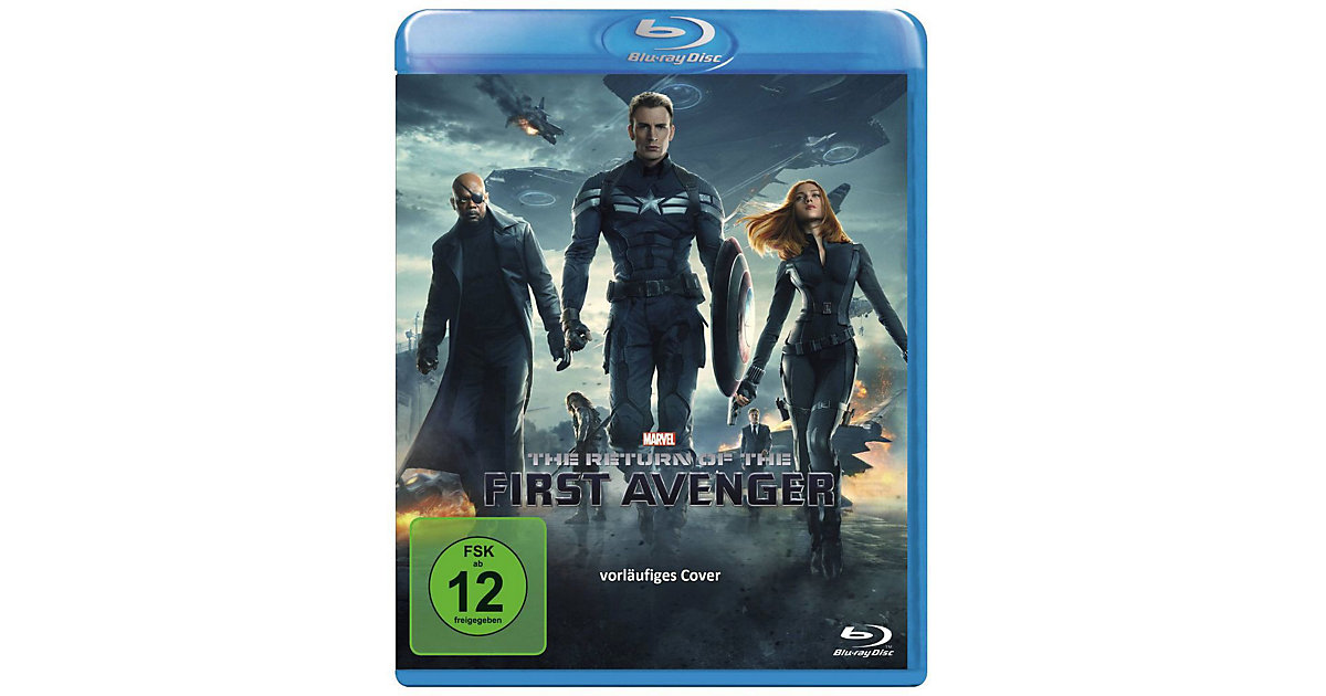 BLU-RAY The Return of the First Avenger Hörbuch