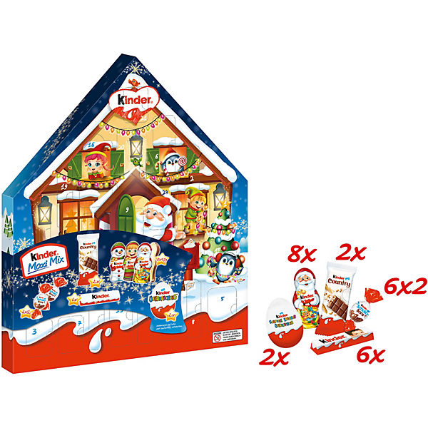 FERRERO Adventskalender Kinder Maxi-Mix