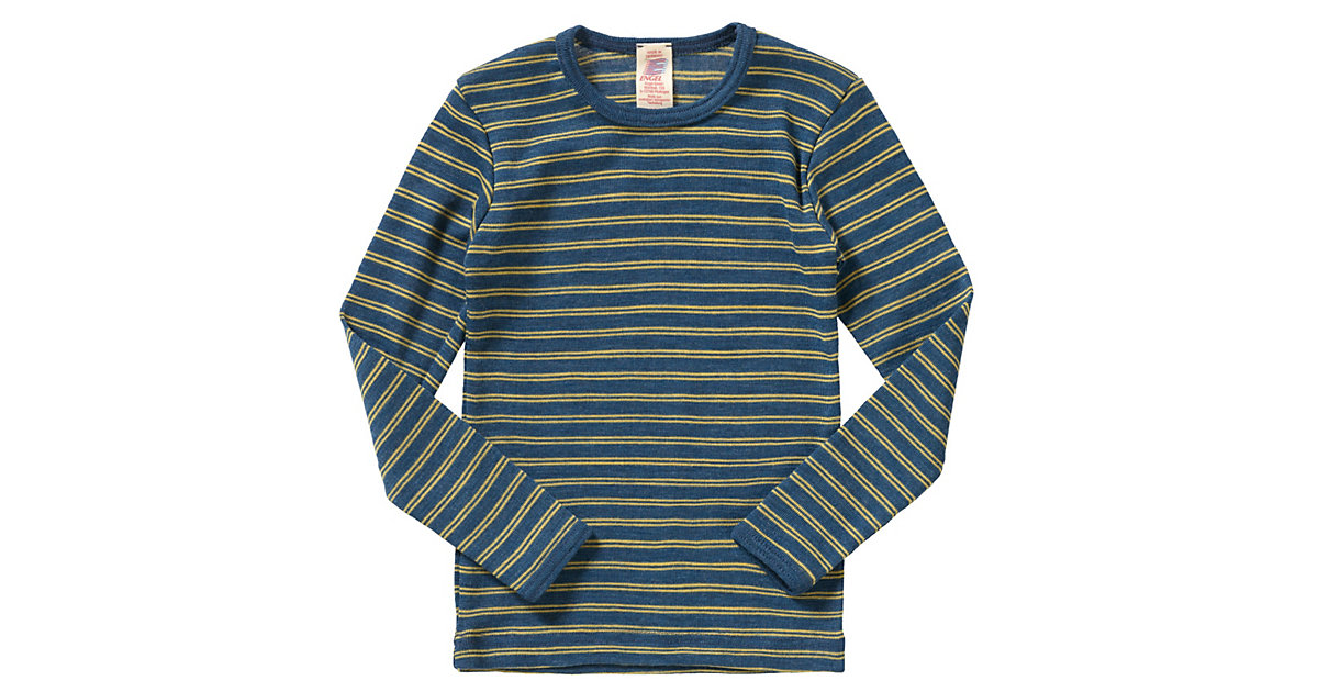 Kinder Unterhemd Wolle Gr. 92