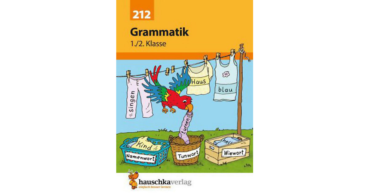 Hauschka Verlag · Grammatik Deutsch 1./2. Klasse [Att8:BandNrText: 212]