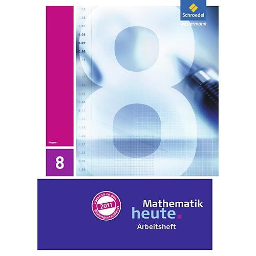 Schroedel Verlag Mathematik heute, Ausgabe 2011 Hessen: 8. Klasse, Arbeitsheft mit Lösungen [Att8:BandNrText: 83155] jetztbilligerkaufen