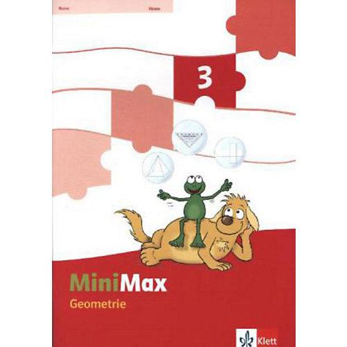 Klett Verlag Mathematik Minimax: Themenheft Geometrie. 3. Schuljahr, Verbrauchsmaterial [Att8:BandNrText: 280543] jetztbilligerkaufen