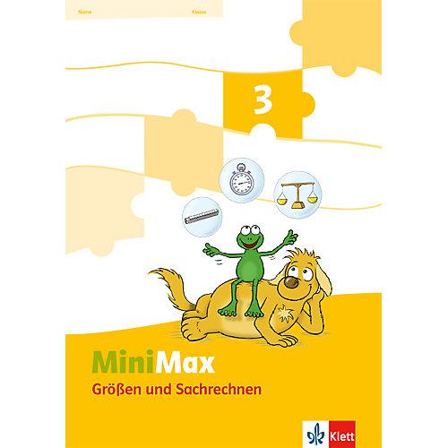 Klett Verlag Mathematik Minimax: Themenheft Größen und Sachrechnen. 3. Schuljahr, Verbrauchsmaterial [Att8:BandNrText: 280542] jetztbilligerkaufen