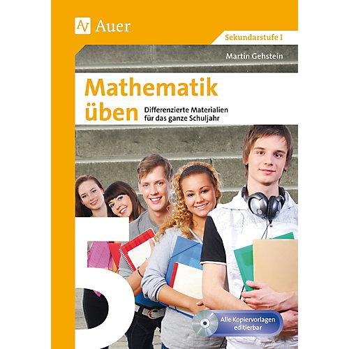 Auer Verlag Mathematik üben, Klasse 5, m. CD-ROM jetztbilligerkaufen