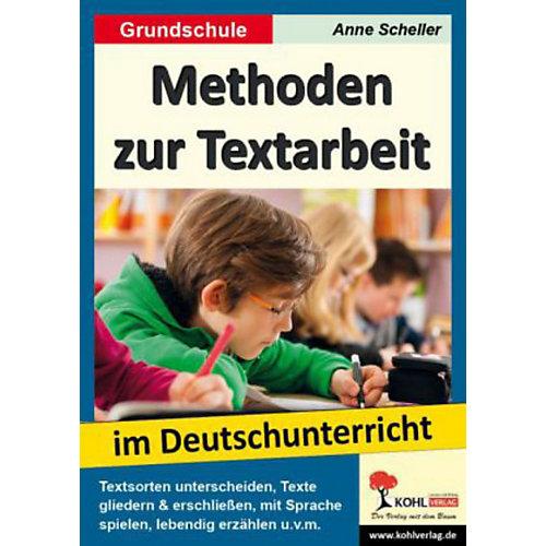Kohl-Verlag Methoden zur Textarbeit im Deutschunterricht 3693750 jetztbilligerkaufen.de