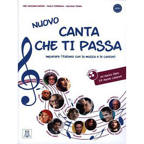 Hueber Verlag Nuovo Canta che ti passa: Begleitbuch, m. Audio-CD jetztbilligerkaufen