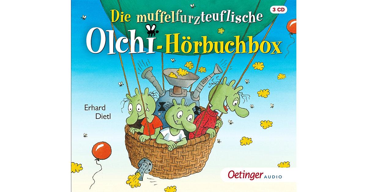 Die muffelfurzteuflische Olchi-Hörbuchbox, 3 Audio-CDs Hörbuch