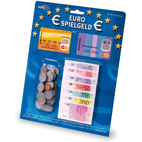Euro Spielgeld Scheine Münzen Noris Mytoys