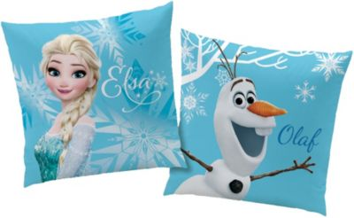 Disney Frozen Die Eiskönigin Kissen 40x40 cm Pink 02 Dekokissen Kuschelkissen
