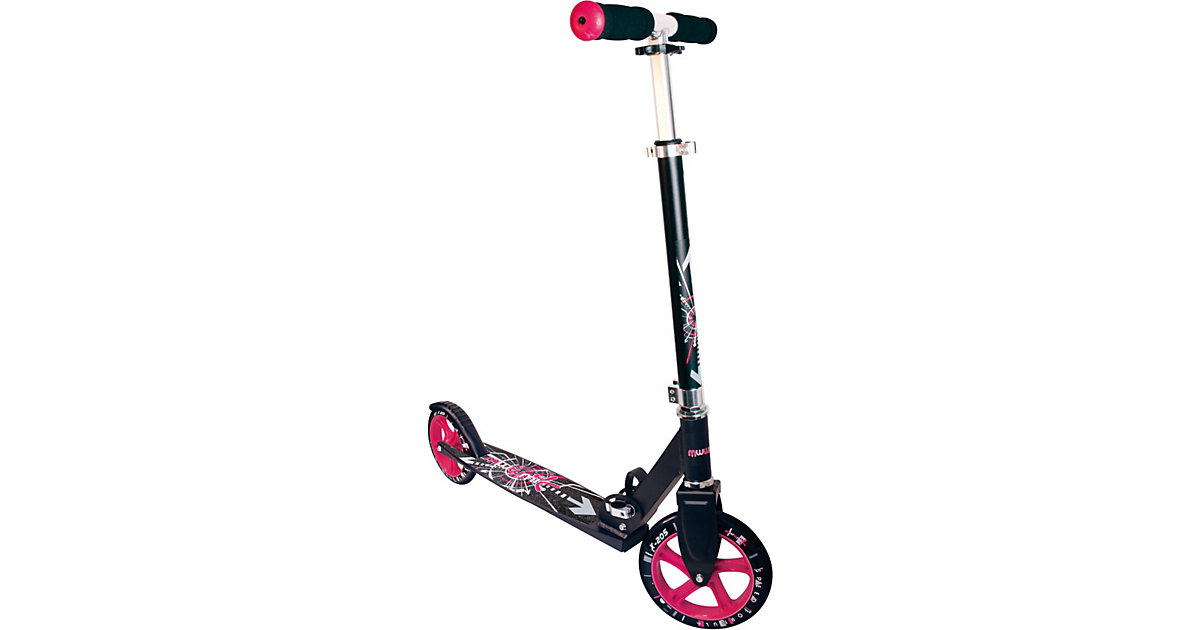 Scooter Muuwmi schwarz/pink 205 mm