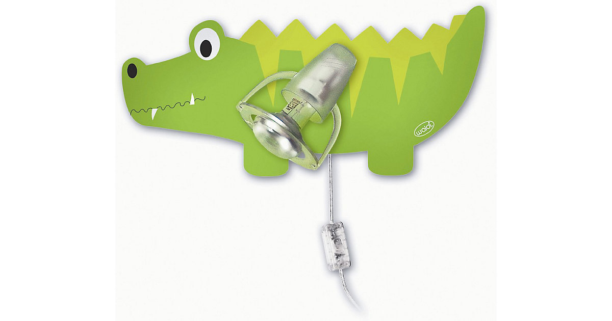 Wandlampe Krokodil