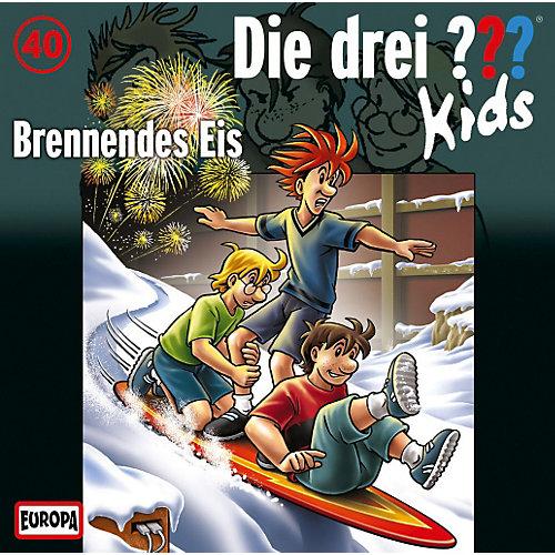 Die Drei ??? Kids 040/Brennendes Eis Kinder CD jetztbilligerkaufen