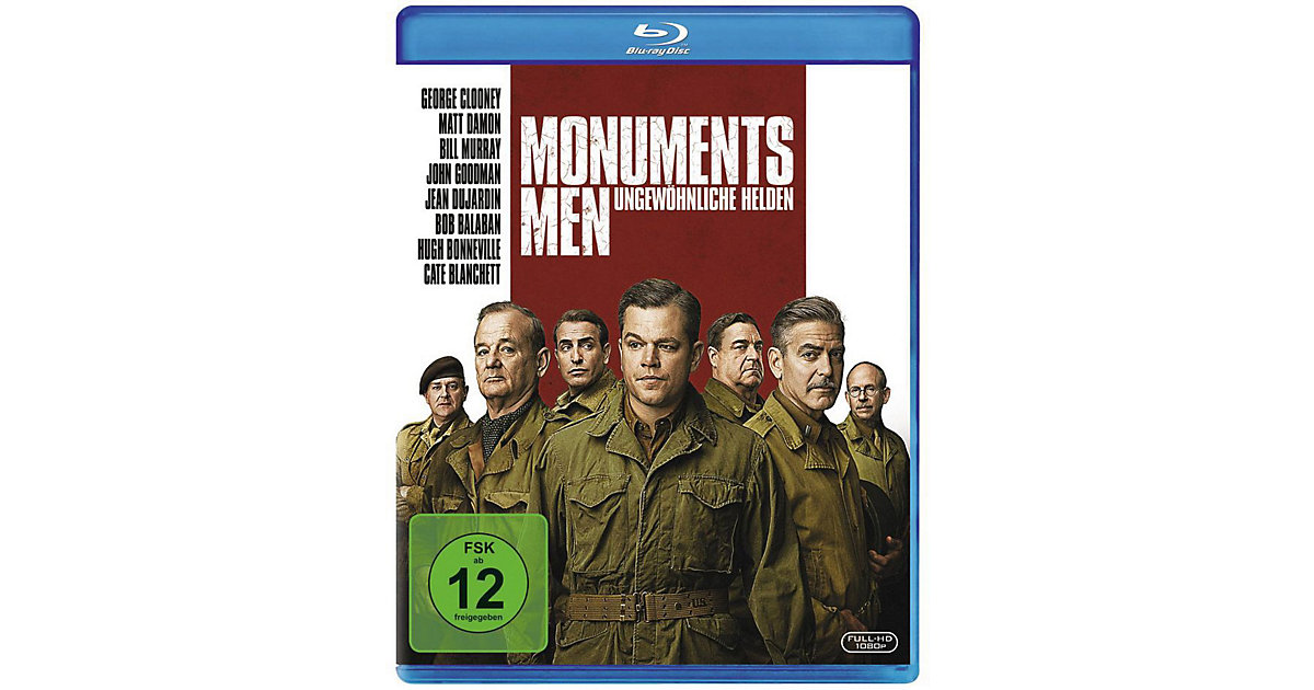 BLU-RAY Monuments Men Hörbuch