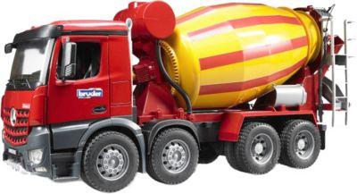 Kleinkindspielzeug Bruder MAN TGS Betonmisch-LKW Fahrzeug Kinder Baufahrzeug Spielzeug NEU