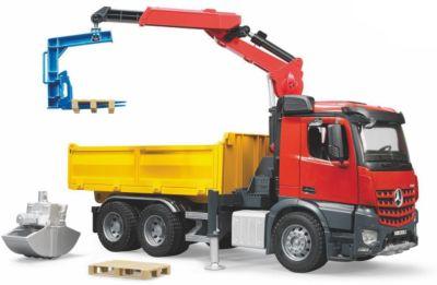 Spielzeugautos Bruder Fahrzeuge Baustelle Set