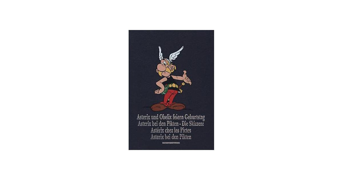Egmont · Asterix Gesamtausgabe: Asterix und Obelix feiern Geburtstag. Astérix chez les Pictes: Die Skizzen, Asterix bei den Pikten