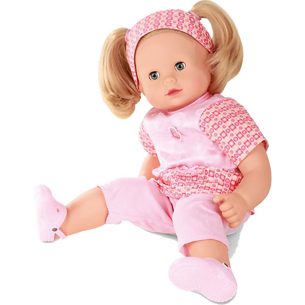 Babypuppe Maxy Muffin Mit Haarbürste Blonde Haare 42cm Götz Mytoys