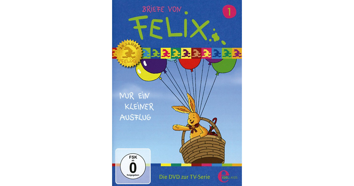 DVD Briefe von Felix 01 - Nur ein kleiner Ausflug Hörbuch