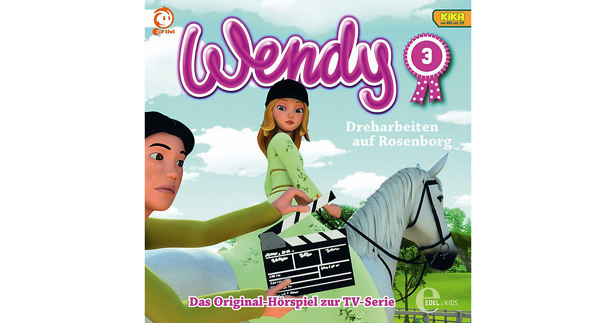 CD Wendy 03 - Dreharbeiten auf Rosenborg