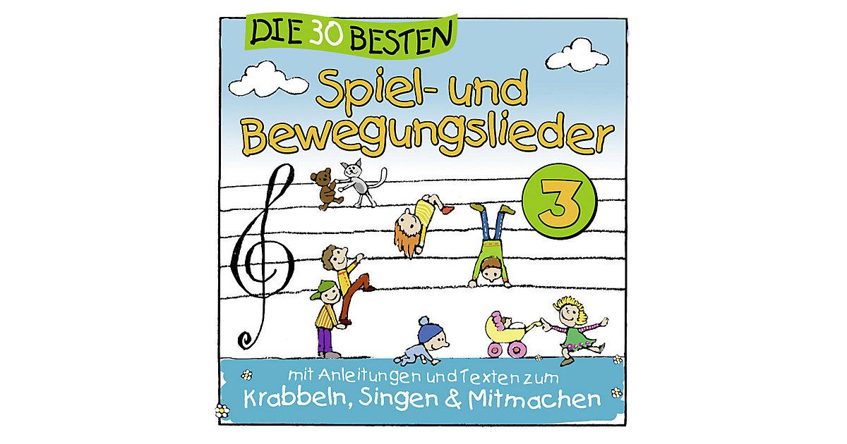 CD Die 30 besten Spiel und Bewegungslieder 3
