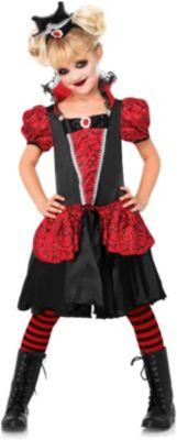 Kostüm Kleine Vampirfürstin Gr. 110/116 Mädchen Kinder