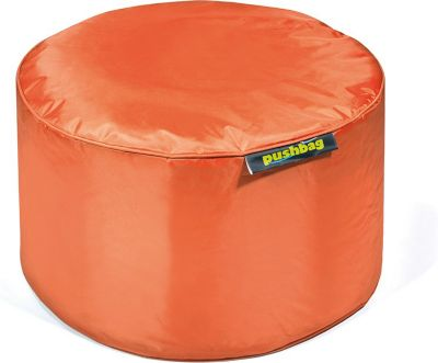Sitzsack Drum, Oxford, orange, pushbag