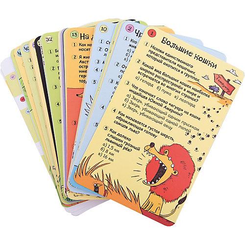 """Карточки в дорогу """"Вопросы и ответы о животных"""" от Робинс"""