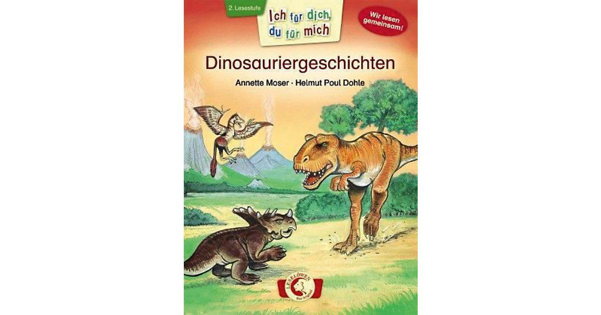 Ich dich, du mich: Dinosauriergeschichten Kinder