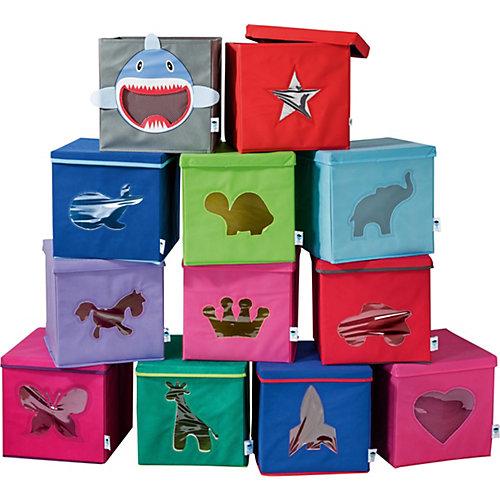 Коробка с крышкой для хранения Store it Черепашка - grün/gelb от STORE IT!