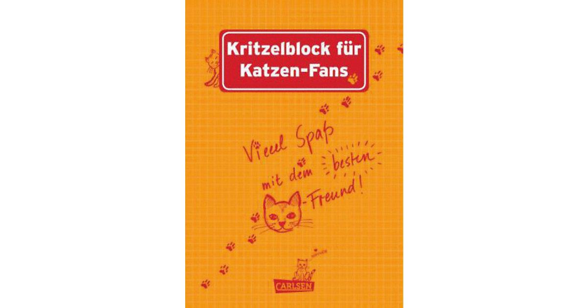 Kritzelblock Katzen-Fans Kinder