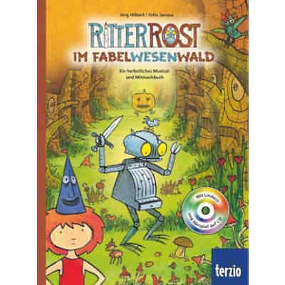 Ritter Rost im Fabelwesenwald, mit Audio-CD