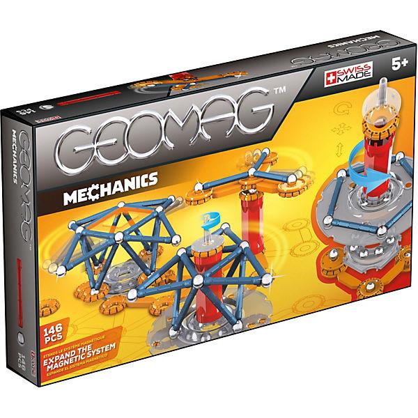 """Магнитный конструктор Geomag """"Mechanics"""",  146 деталей"""