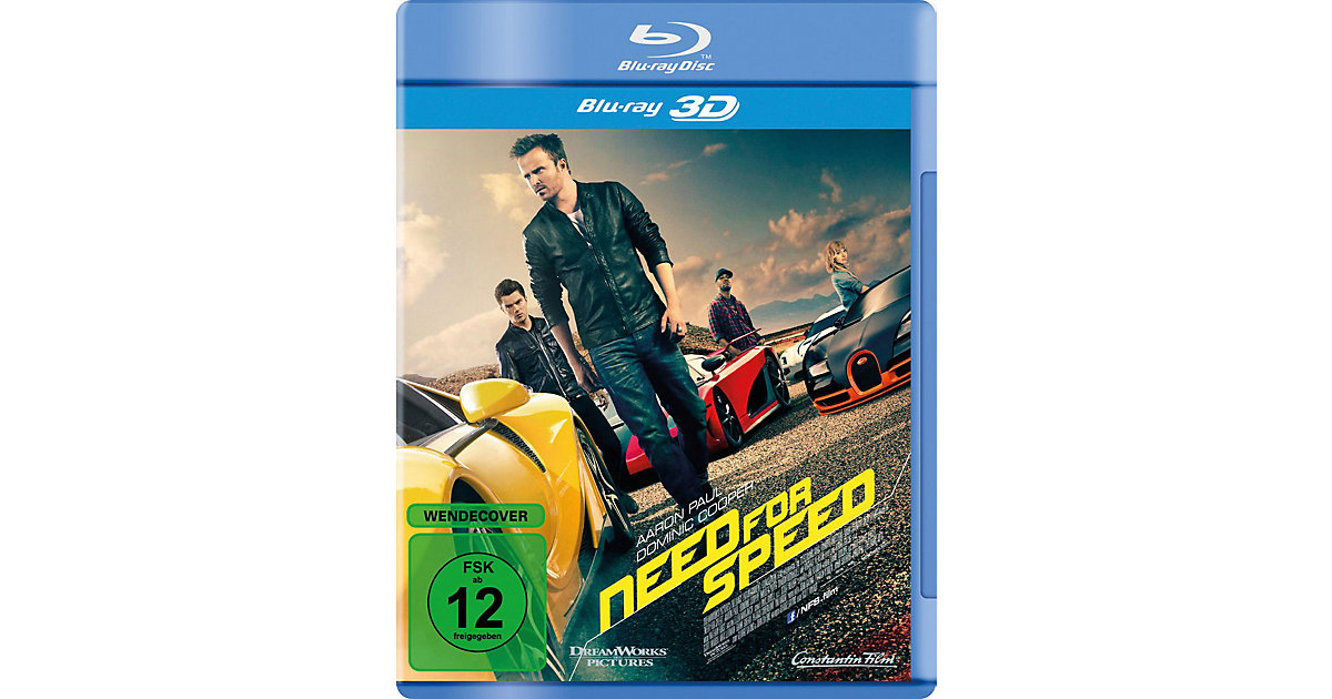 Universal · BLU-RAY Need for Speed (3D Vers.)