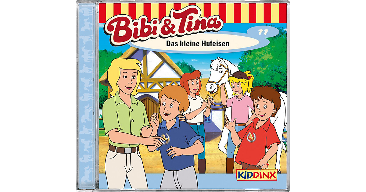 CD Bibi & Tina 77 - Das kleine Hufeisen