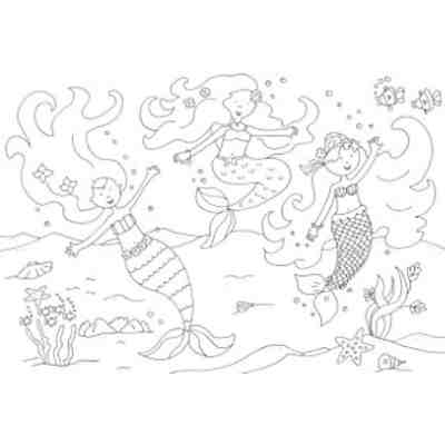 Glitzerzauber Malbuch: Meerjungfrauen, Sandra Schmidt   myToys