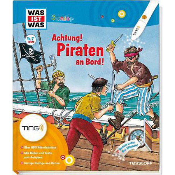 TING WAS IST WAS Junior - Achtung! Piraten an Bord!