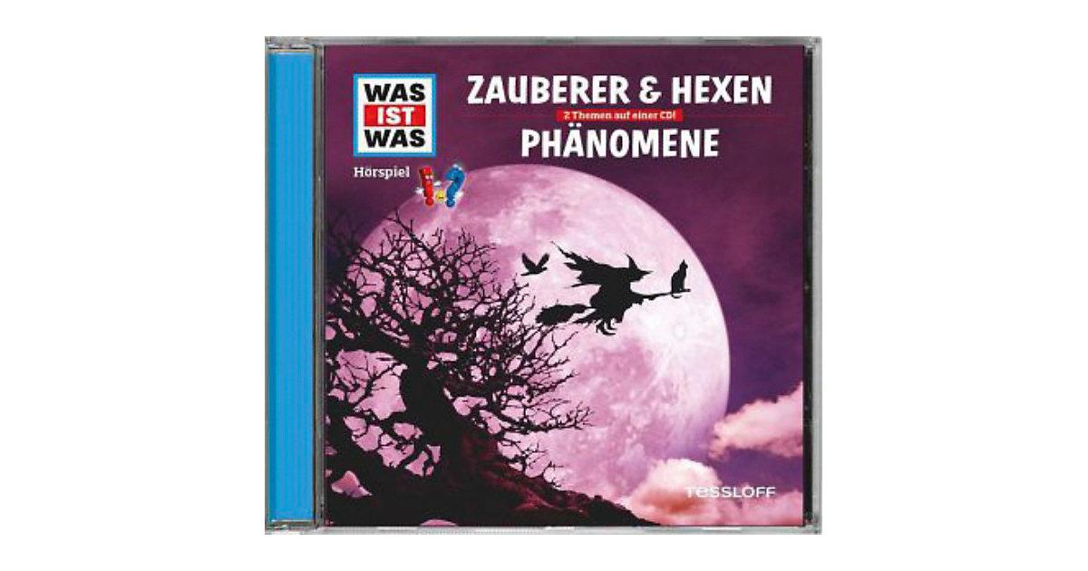 WAS IST WAS Zauberer & Hexen / Phänomene, Audio-CD