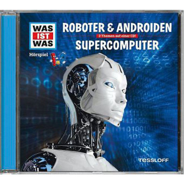 WAS IST WAS Roboter & Androiden / Supercomputer, Audio-CD