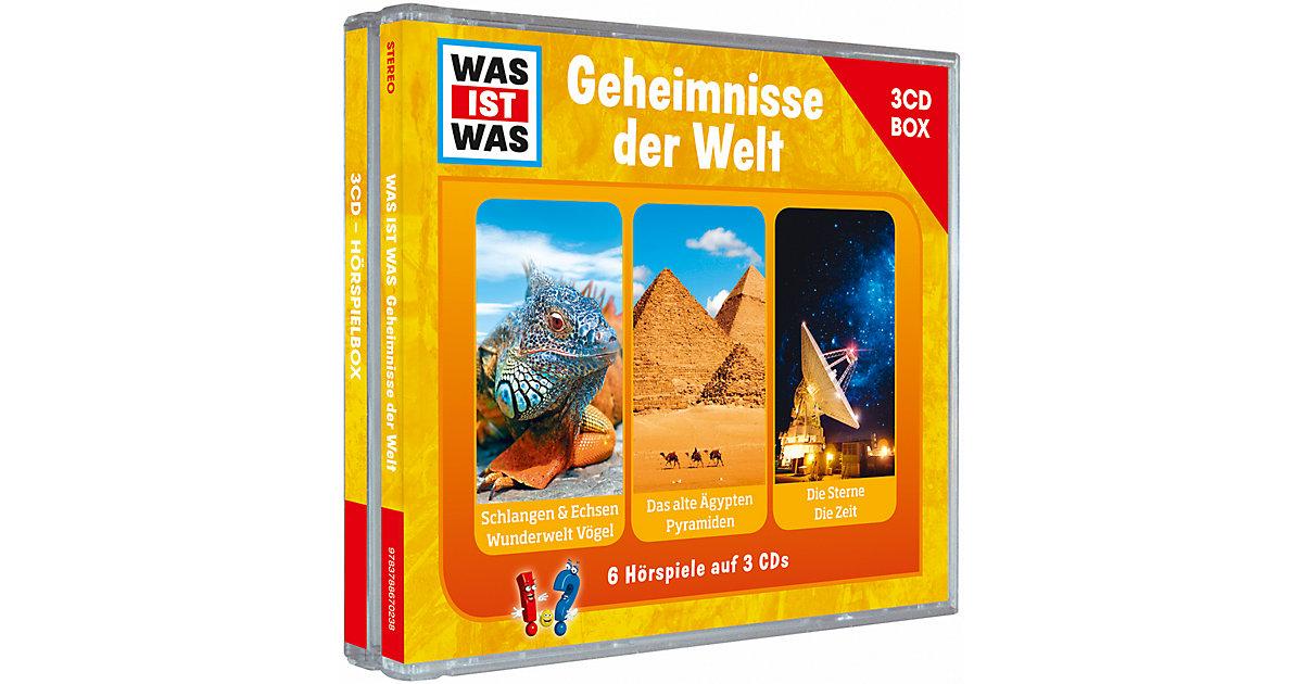 WAS IST WAS Geheimnisse der Welt, Audio-CD Hörbuch
