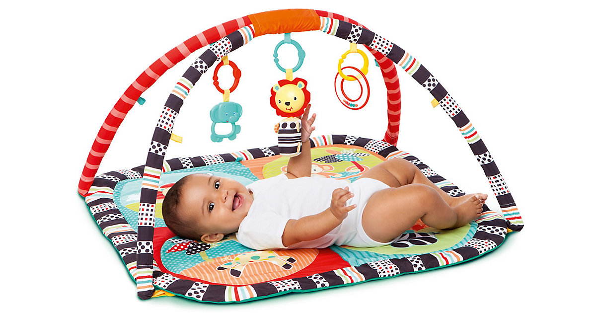 Bright Starts Safari Activity Spieldecke