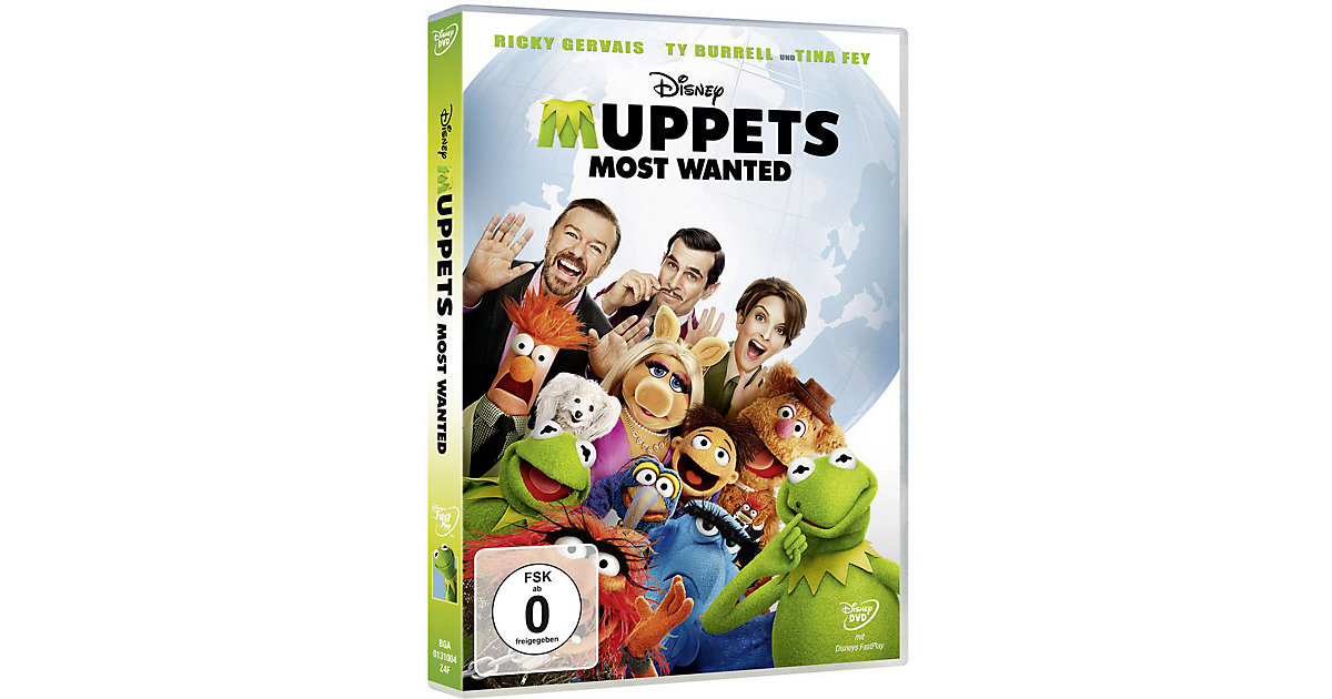 DVD Disney´s - Muppets - Most Wanted