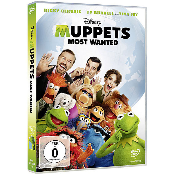 DVD Disney's - Muppets - Most Wanted
