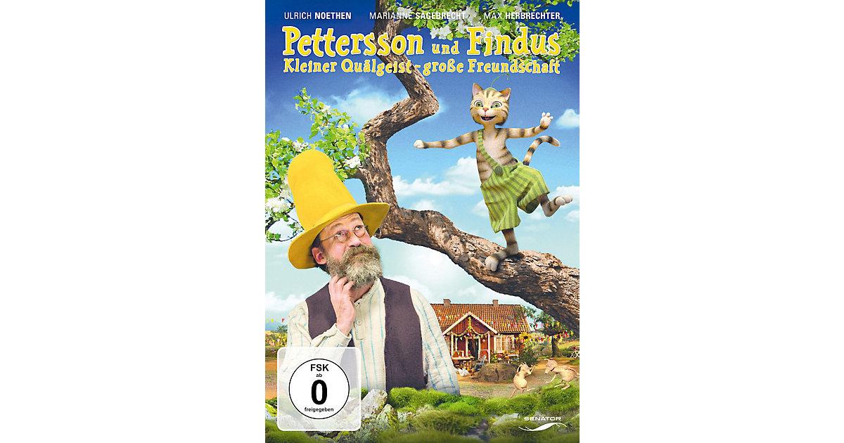 DVD Pettersson und Findus - Kleiner Quälgeist - große Freundschaft Hörbuch