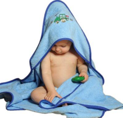 Maxi Baby Kapuzenhandtuch mit Namen bestickt Kapuzentuch XL Badetuch