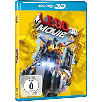 BLU-RAY The LEGO Movie (3D Vers.)