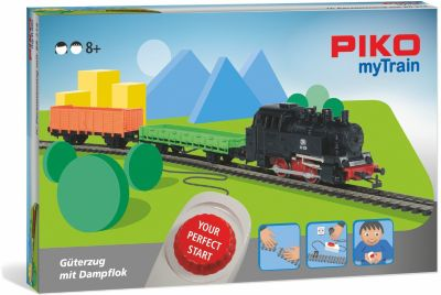 PIKO myTrain Start-Set Güterzug mit Dampflok